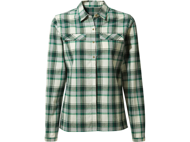 Craghoppers Dauphine Chemise Manches longues Femme, verde check